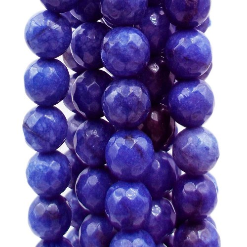 Agata Blu | Agata blu tonda sfac. 10 mm filo 40 cm - blu10mm6