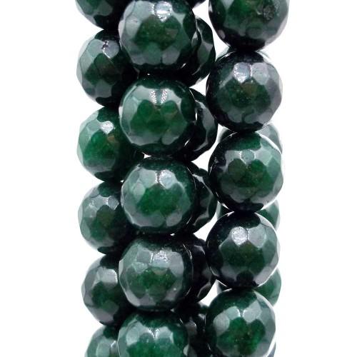 Agata Verde   Agata Verde tonda sfacc. grado AAA 10 mm pacco 10 pezzi - verd10mp
