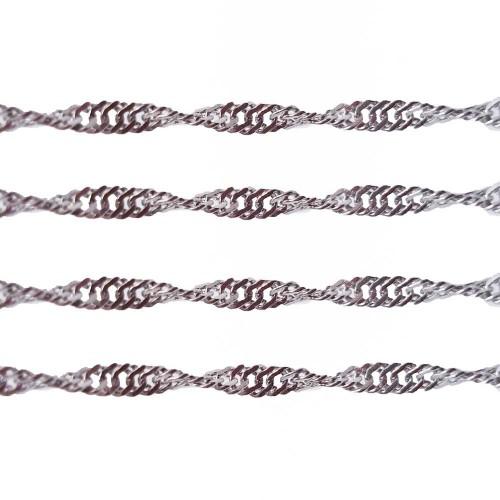 Catene In Acciaio | Catena in acciaio a spirale 1.8 mm pacco da 1 metro - spi18m