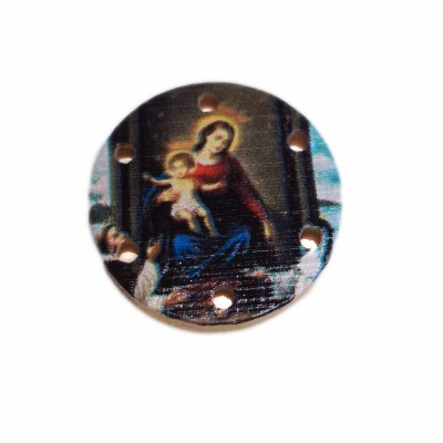 Connettore in legno religioso 20 mm pacco 2 pz