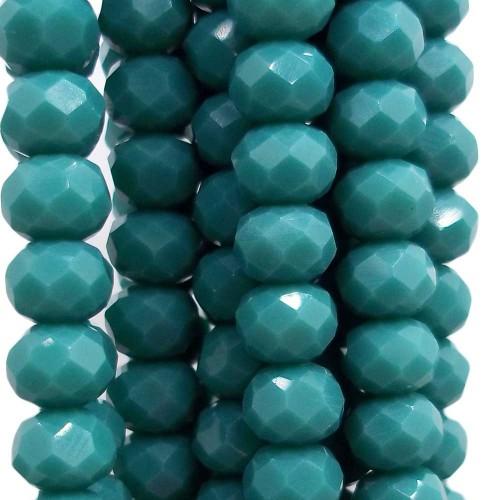 Cristalli Rondelle 6 mm | Cristalli rondella viking 6x4 mm filo 45 cm - viking2