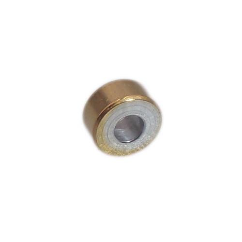 Distanziatori In Acciaio   Distanziatori rondelle oro e acciaio 4x2 mm foro 1.6 mm pacco 20 pz - gghy664