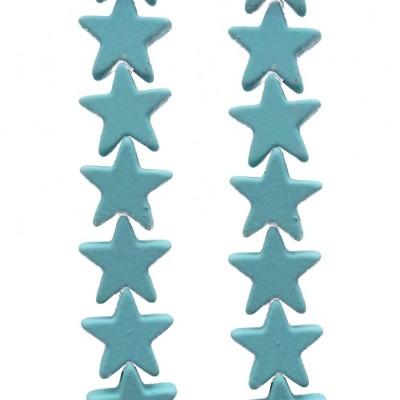 Ematite stelle rivestite 7 mm tiffany pacco da 10 pezzi