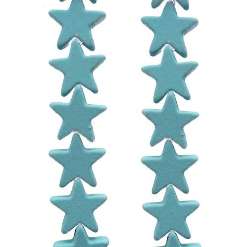 Ematite   Ematite stelle rivestite 7 mm tiffany pacco da 10 pezzi - tyemat33