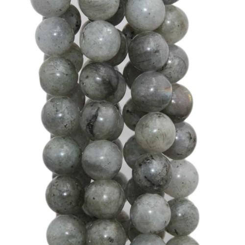 Labradorite | Labradorite tonda liscia 10,5 mm pacco 10 pezzi - lab2y1