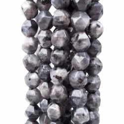 Pepite in pietra dura labradorite 8 mm(circa) pacco 10 pz