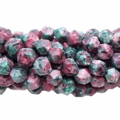 Pepite in pietra di rubizoisite 8 mm(circa) pacco 10 pz