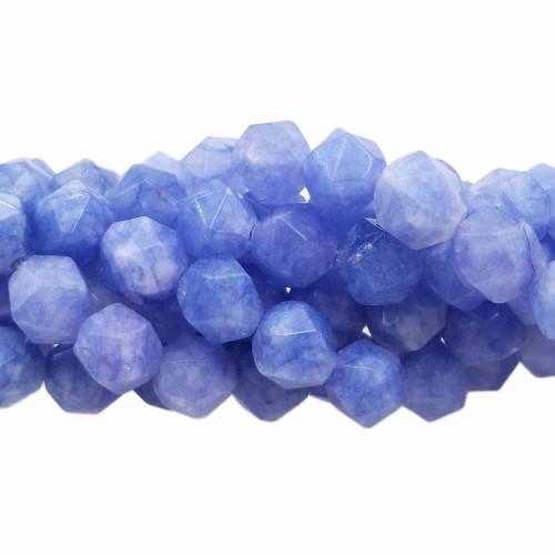 Pepite in pietra dura | Pepite in pietra dura viola 8 mm(circa) pacco 10 pz - mio6