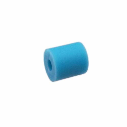 Perline Heishi pasta polimerica | Heishi tubicini azzurro 6 mm pacco da 50 pezzi - tu79bb