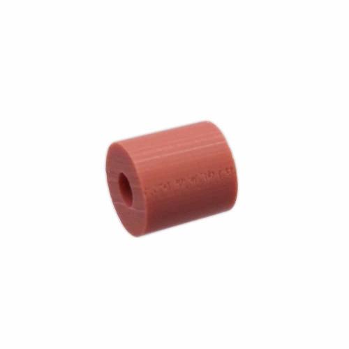 Perline Heishi pasta polimerica | Heishi tubicini terra cotta 6 mm pacco da 50 pezzi - tu79mm