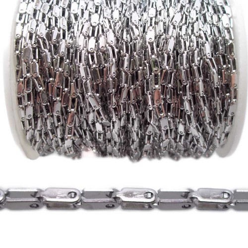 Catene In Acciaio   Catena in acciaio 2 mm pacco 50 centimetri - cai01