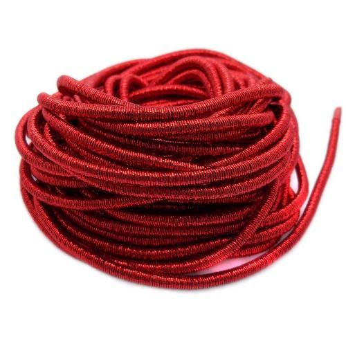 Catene Rivestite | Catena rivestita roso 4 mm pacco 1 metro - Ctrv0665