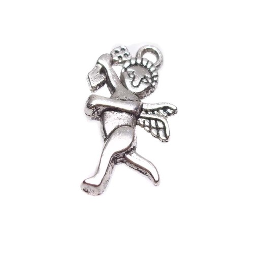 Charms In Metallo | ANGIOLETTO 22x14 MM PACCO 10 PEZZI - Tr007
