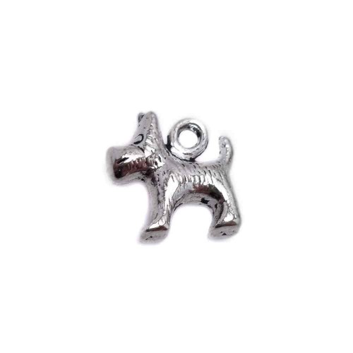 Charms In Metallo | CHARMS CAGNOLINO 14 MM 10 PEZZI - Ar9994