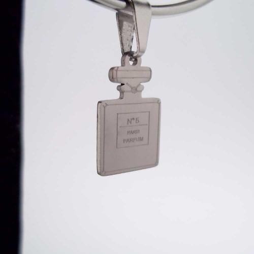 Charms In Acciaio | Charms acciao profumo N.5 1 pezzo - Cz109