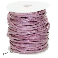 CORDINO PIATTO PLASTIFICATO ROSA MULTI COLOR 1MT