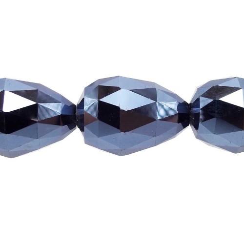 Cristalli Gocce Grandi | CRISTALLI GOCCE EMATITE 27x18 MM PACCO 1 PZ - Go4000