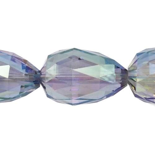 Cristalli Gocce Grandi | CRISTALLI GOCCE VERDE 27x18 MM PACCO 1 PZ - Go4004