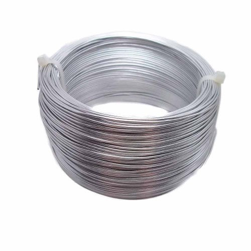 Bracciale tecnica wire | Filo in alluminio argentato da 1 mm pacco 5 metri - AL001