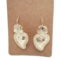 Monachelle cuore sacri oro pacco 2 pezzi