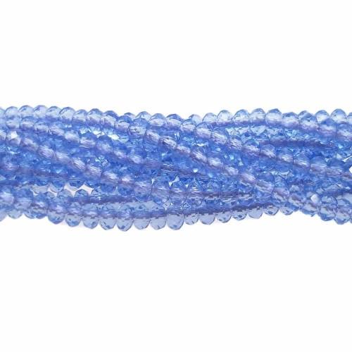 Rondelle 2 mm | CRISTALLI RONDELLA BLU NOTTE  2X1,5 MM FILO - CR0026